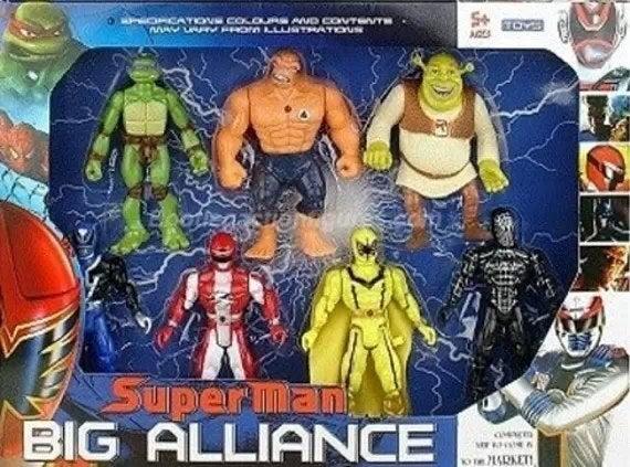 El set ultra exclusivo de sus juguetes se cotiza en las convenciones de cómics alrededor del mundo y sólo puede ser comprado con invitación.Precio: $1,575,000.00