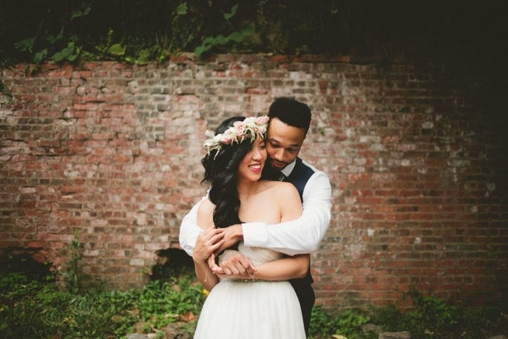 See more of their wedding here.