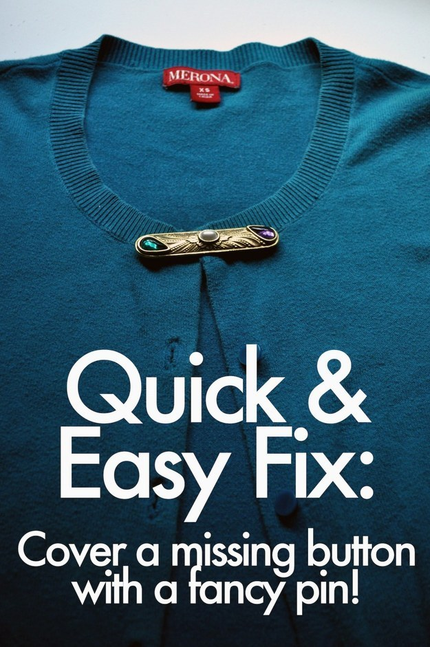 19 Fixes For Every Clothing Emergency