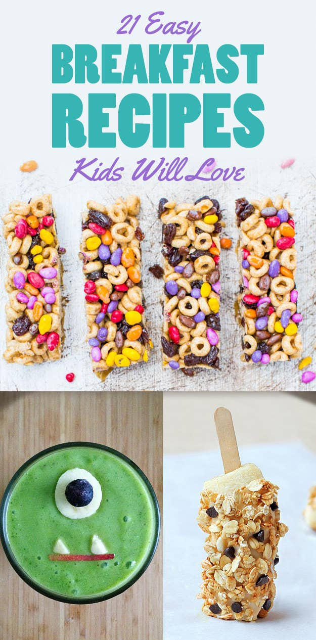 21 Back To School Breakfast Recipes That Kids Will Love