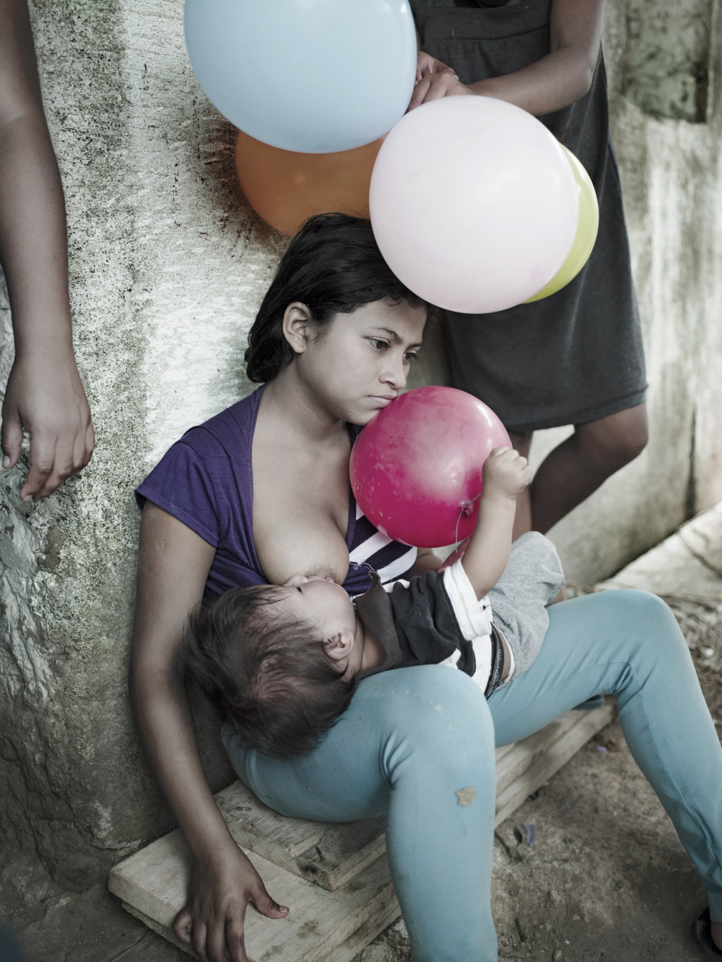 Raped, Pregnant Girls Are The Focus Of This Searing Photo Project