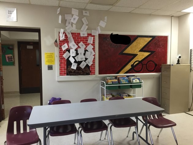 Classroom Ideas Buzzfeed : This teacher s harry potter themed classroom is totally