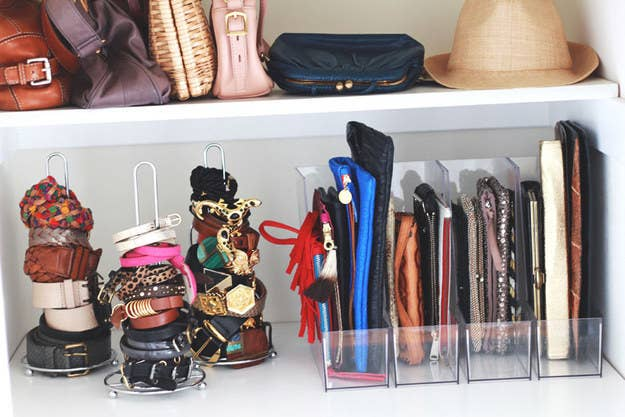 42 storage ideas that will organize your entire house and your clutches lined up in magazine racks see more here solutioingenieria Gallery