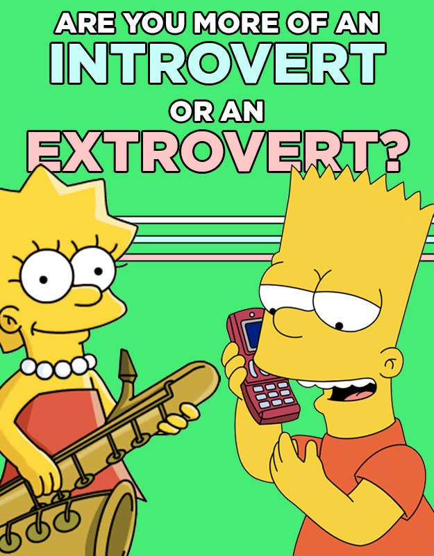 Are You More Of An Introvert Or An Extrovert?