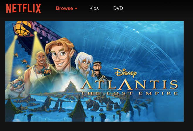 Atlantis: The Perfect Disney Movie For Netflix And Chill