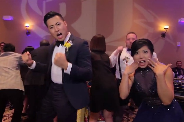 You Have To See This Epic Wedding Music Video With All 250 Guests