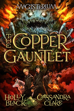Also right up there in the young adult genre is The Copper Gauntlet by Cassandra Clare (of The Mortal Instruments fame) and Holly Black (author of the amazing Spiderwick Chronicles). The books are set in a world of dark magicians in which children train as apprentices to be warriors. The Copper Gauntlet is the second book in the Magisterium series.