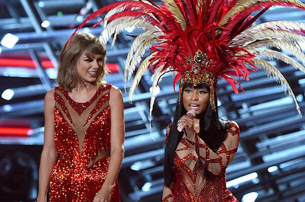 Taylor Swift & Nicki Minaj Bad Blood Performance at 2015