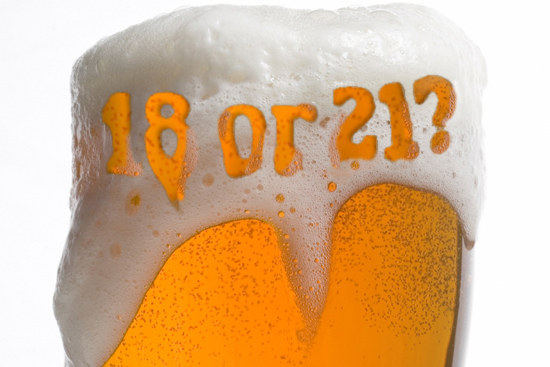 legal drinking age should be 18 While 19 countries (10% of the total) have no minimum legal drinking age, the majority of nations around the world have set their drinking age at 18/19 this includes the majority of western countries and america's closest neighbors canada and mexico.