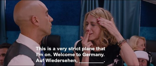Kristen wiig bridesmaids airplane you do