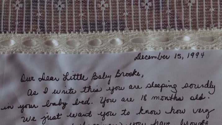 A Mom Wrote Her Daughter A Letter After Adopting Her And Gave It To ...