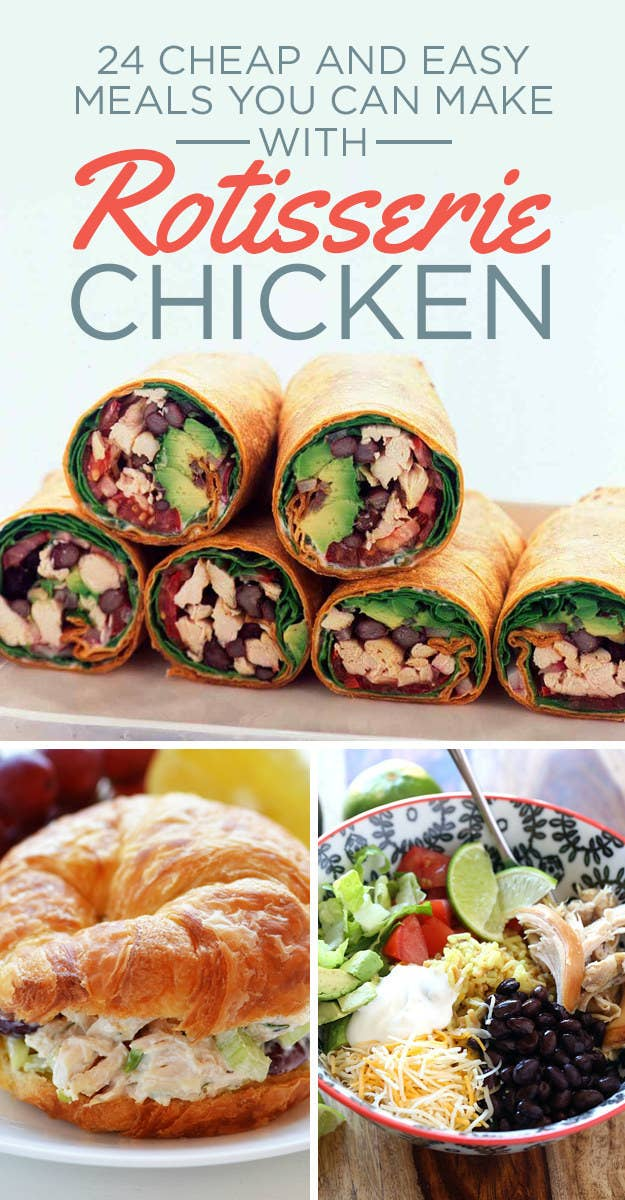 24 easy meals you can make with rotisserie chicken share on facebook share forumfinder Choice Image