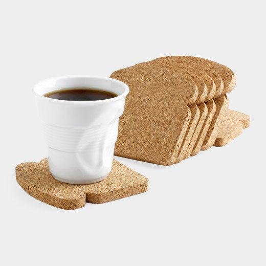 Cómete una tostada SOBRE una tostada. Cómpralos aquí.
