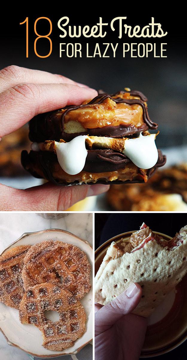 18 Lazy-Girl Dessert Hacks