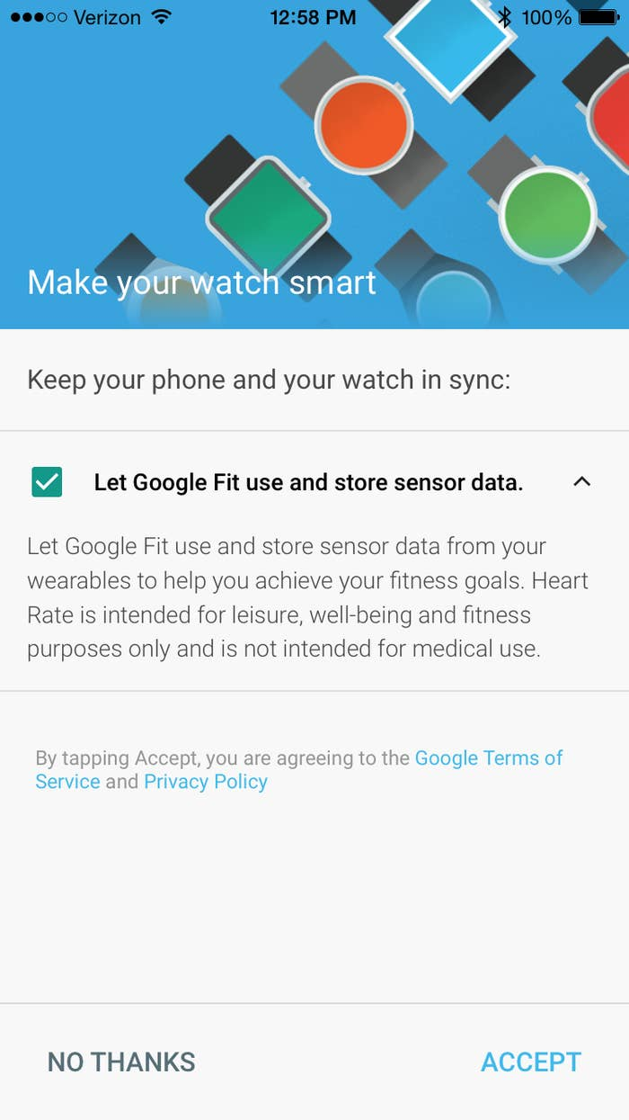 Android Wear For iPhone Won't Work With Apple's HealthKit