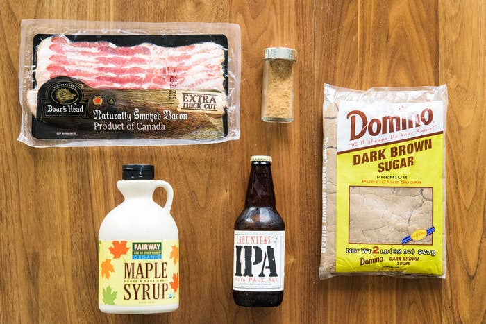The Best Kind Of Bacon Is Coated With Sugar And Beer