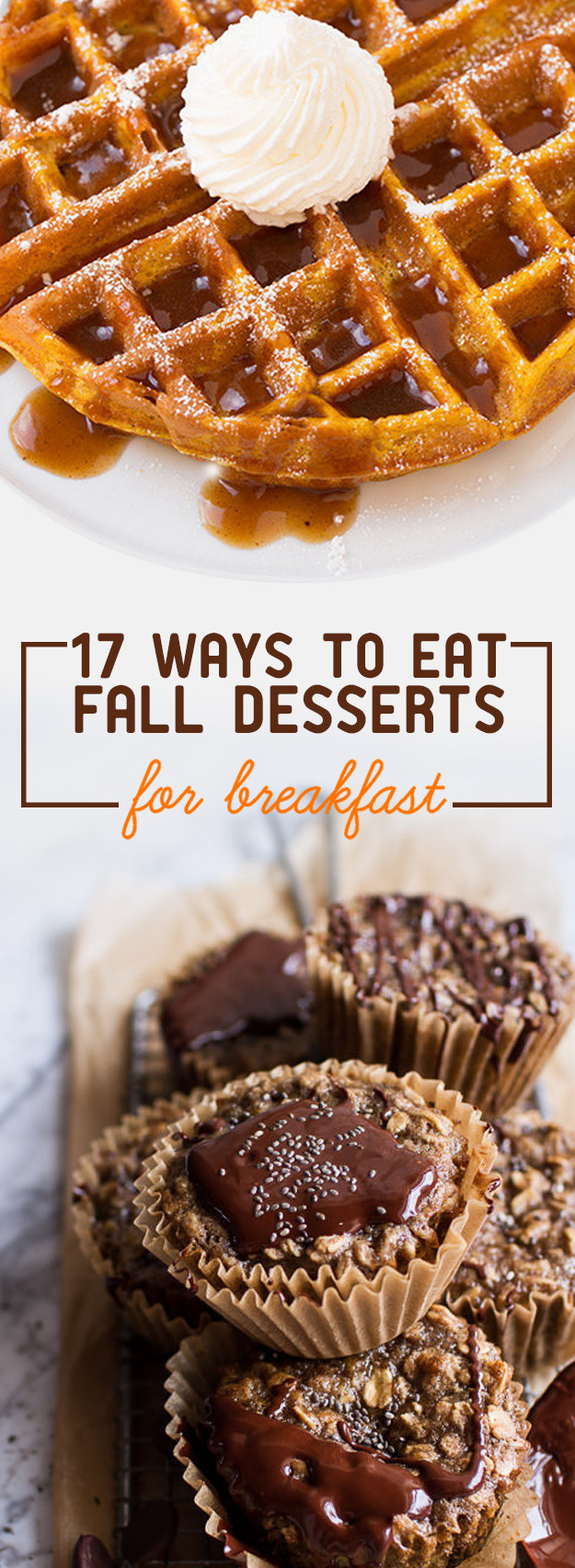17 Fall Breakfasts That Will Satisfy Your Sweet Tooth