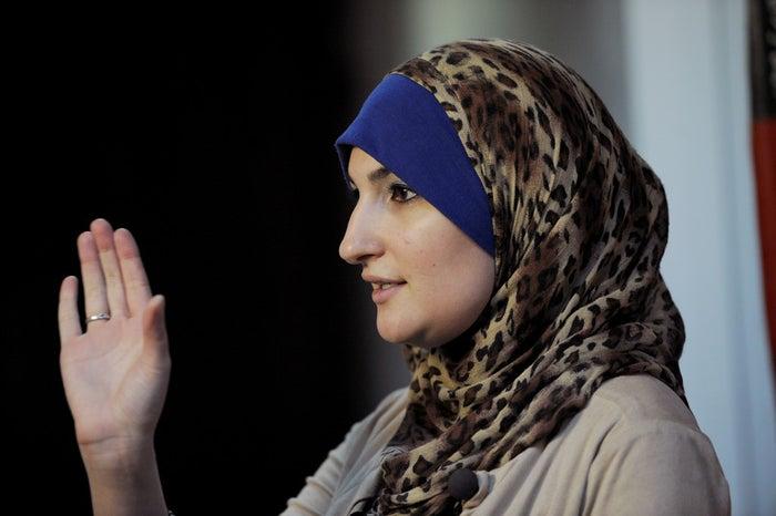 Linda Sarsour, director of the Arab American Association of New York.