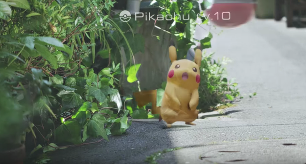 See a Pikachu on your morning commute? Explain to your boss you were five minutes late because GOTTA CATCH 'EM ALL.