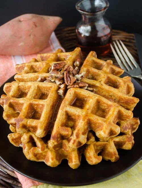 Tasty and nutritious waffles you won't feel guilty about.