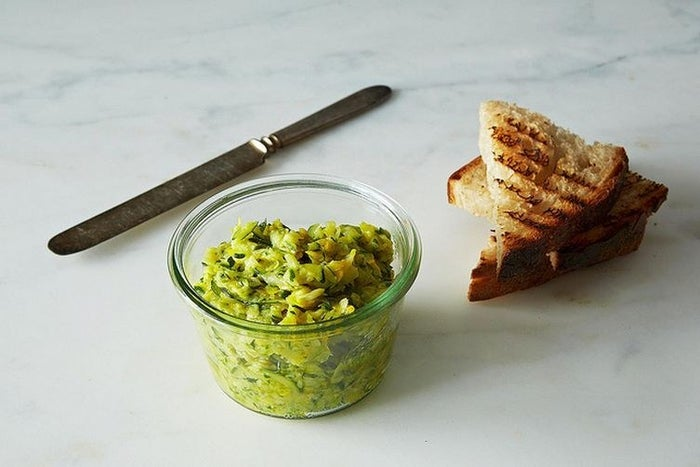 It turns out zucchini wants to be butter. Get the recipe.