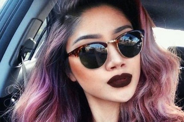 23 People Who Look Drop Dead Amazing Wearing Brown Lipstick