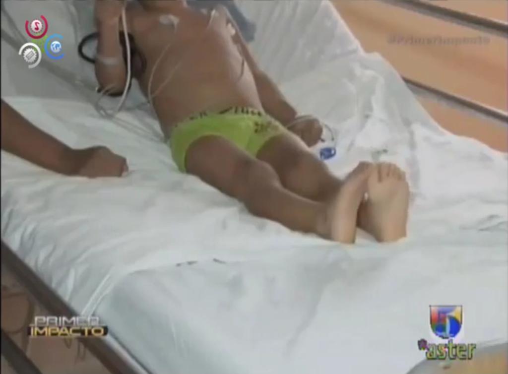 Un niño con cáncer le pide al Presidente de Venezuela que le permita ver a su papá