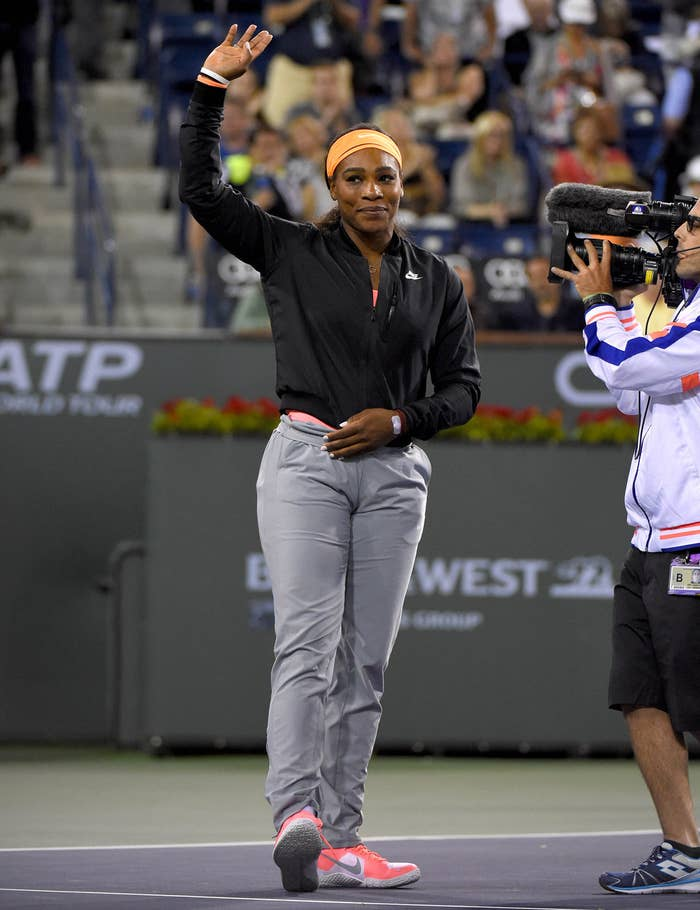 "In 2001, a teenage Serena was booed relentlessly during her Indian Wells victory match over Kim Clijsters. She vowed never to return, but in 2015 she wrote in an article for Time, ""Thirteen years and a lifetime in tennis later, things feel different. A few months ago, when Russian official Shamil Tarpischev made racist and sexist remarks about Venus and me, the WTA and USTA immediately condemned him. It reminded me how far the sport has come, and how far I've come too."""