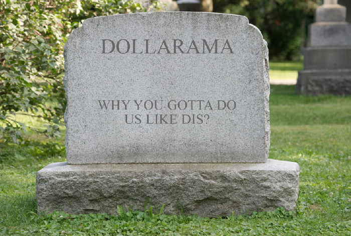 Let's all take a moment of silence to appreciate the ~glory~ that Dollarama once was.