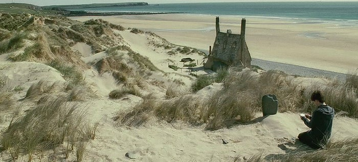 Remember that beach Dobby died on? Yes, that was filmed in Wales. Bill and Fleur's beautiful Shell Cottage was built on Freshwater West beach for the final Harry Potter movies.