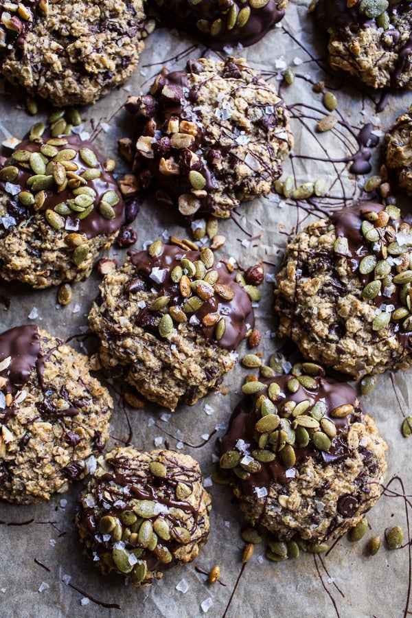 Basically autumn in a cookie. Recipe here.