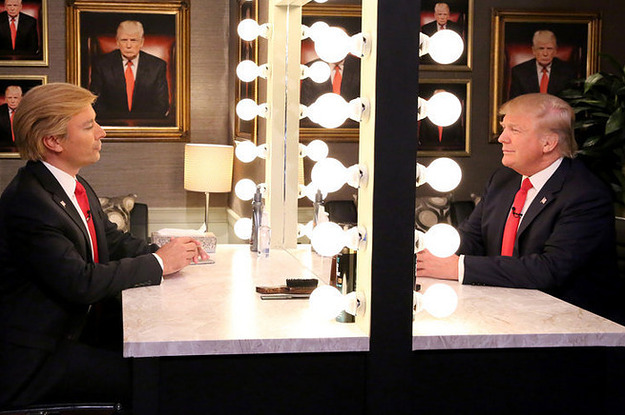 Jimmy Fallon Performed His Donald Trump Impression In Front Of Donald ...