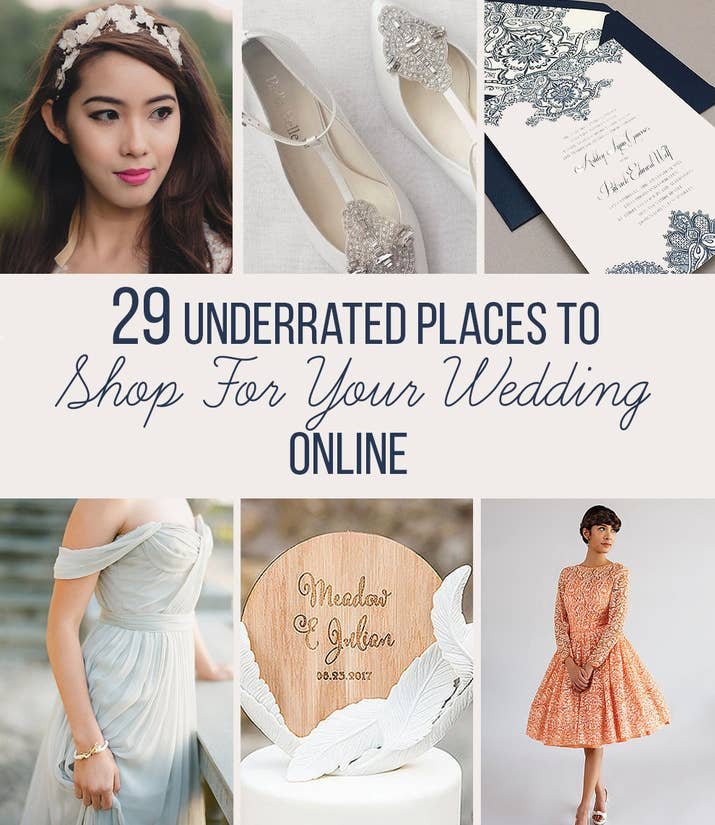 29 Places To Shop For Your Wedding Online That You\'ll Wish You Knew ...