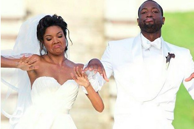 Gabrielle union and dwyane wade made their wedding video look like gabrielle union and dwyane wade made their wedding video look like a rom com trailer junglespirit Choice Image