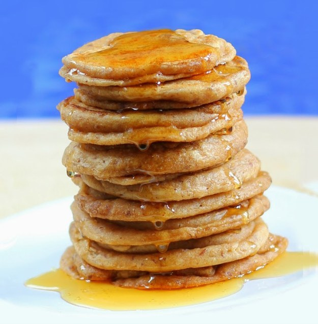 Why Now Is The Right Time For Colorful Autumn Vegan Recipes-Elvis Peanut Butter Pancakes