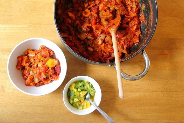 Why Now Is The Right Time For Colorful Autumn Vegan Recipes-One Pot Seitan Chilli
