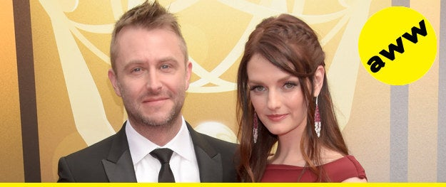 In happier news, TV host and comedian Chris Hardwick is engaged! The proud nerd announced on Instagram that he proposed to girlfriend Lydia Hearst on Saturday in Los Angeles. Giving a play-by-play, Chris revealed that he got the ring from Lydia's mama Patty, which was passed down through the family. And yeah, Lydia Hearst as in the super famous, super rich Hearsts.