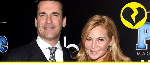 """OK, what is the water in Hollywood? After 18 years together, actors Jon Hamm and Jennifer Westfeldt have called it quits. In a statement to People, the couple said, """"With great sadness, we have decided to separate, after 18 years of love and shared history. We will continue to be supportive of each other in every way possible moving forward."""" CUE TEARS, Y'ALL."""