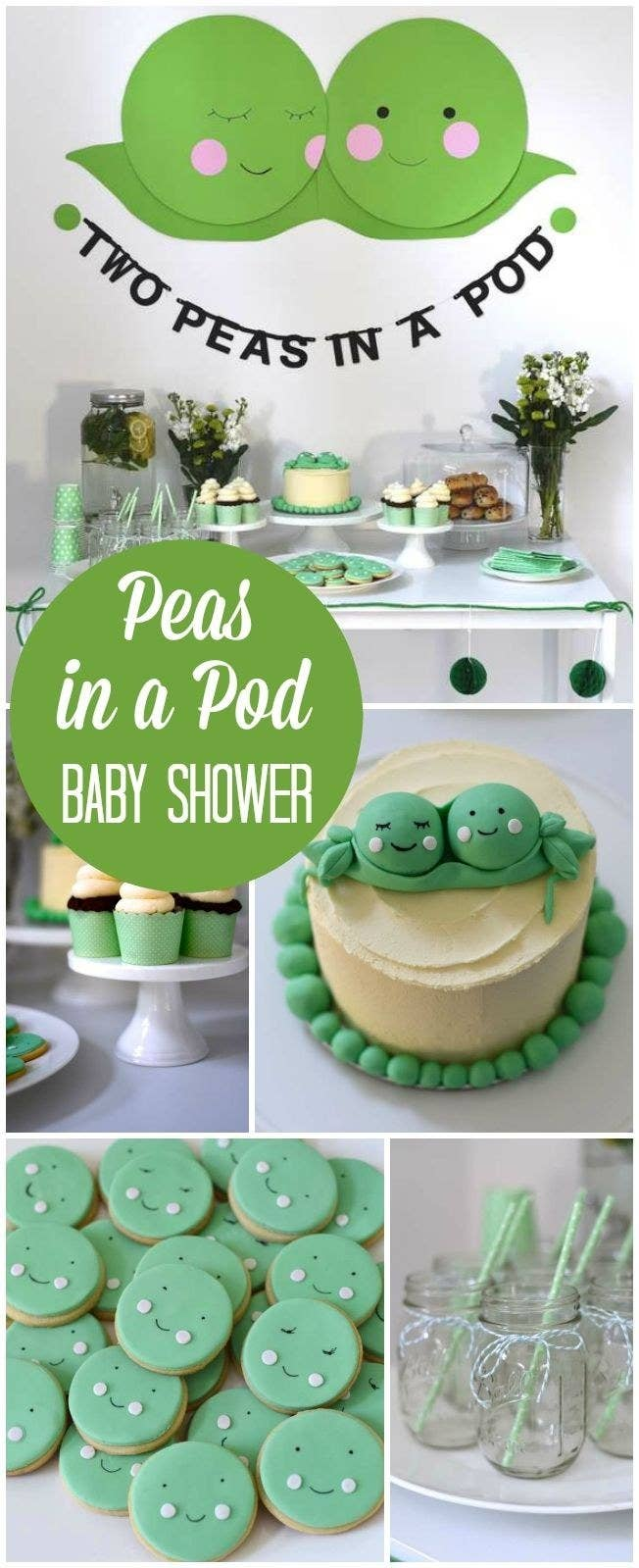 decorations balloon baby in shower supplies toys a pod decor peas kit two twin amazon decorating games com dp