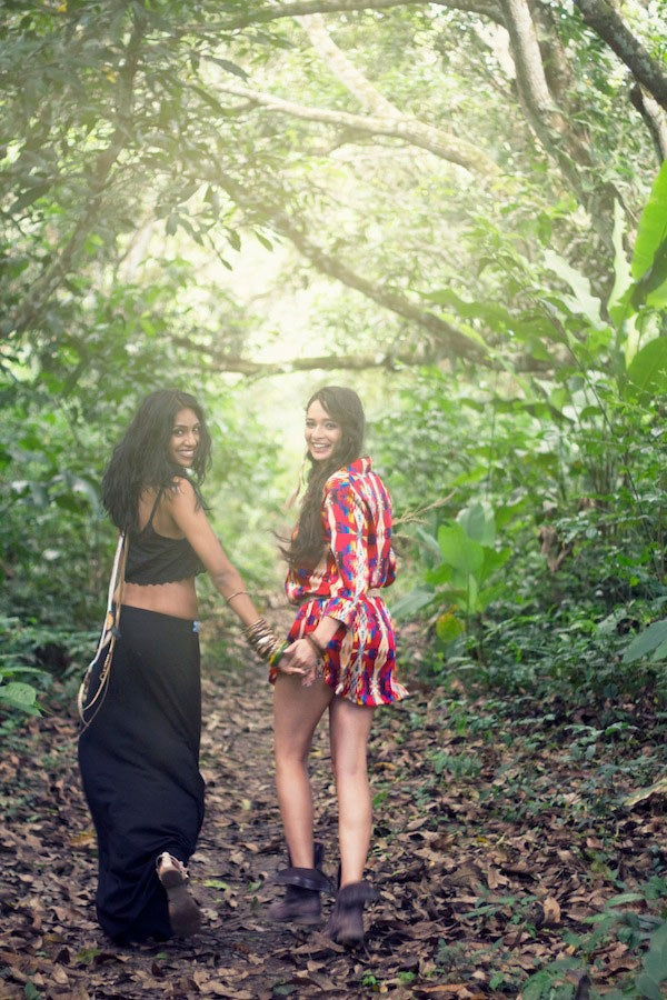 The Winner of Project Runway Season 9, Anya also comes from Trinidad + Tobago and has a close working relationship with Meiling.