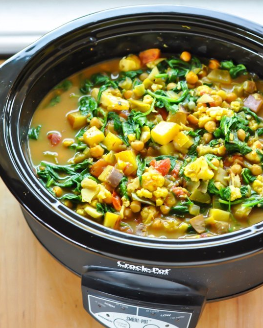 vegan slow cooker recipe book