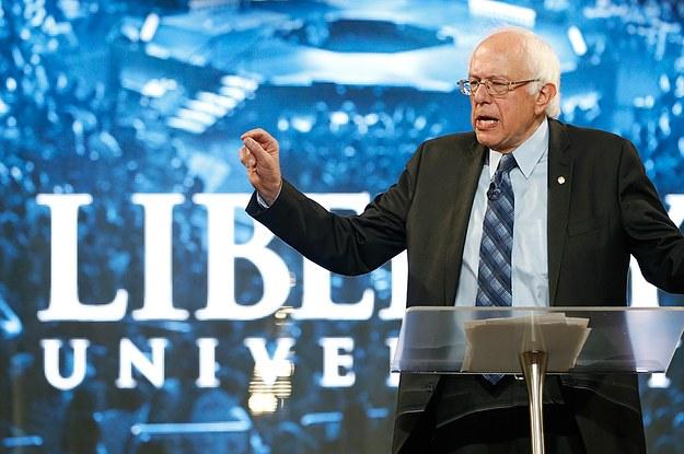 Bernie Sanders' Peak Progressive Dreamboat Moment Came At Liberty University