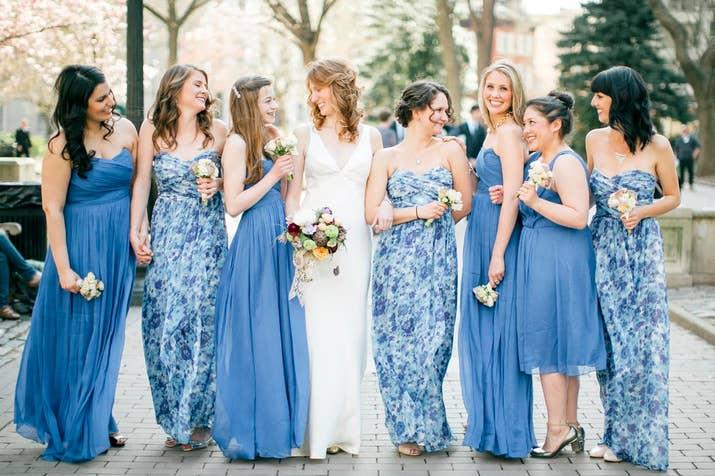 Madrinhas de Azul - Os Vestidos Mais Lindos do Pinterest | Psiu Noiva
