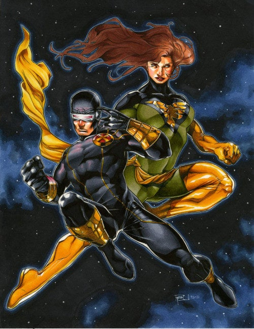 Scott and Jean were both part of the original X-Men and their love became one of the cornerstones of the X-Men comics. Having one of the longest relationships in comic book history these two have a love that literally can save the universe. It did by the way. Whether it's being possessed by a cosmic entity or an ancient mutant these two have always come back to each other. Not even the current death of Jean Grey in the comic books has stopped fans from waiting patiently for her to return to Cyclops.