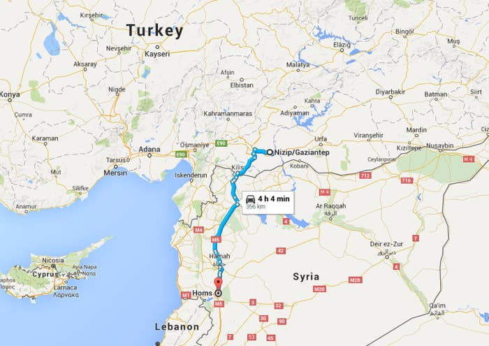 Here Is The Long Route Many Refugees Take To Travel From Syria To ...