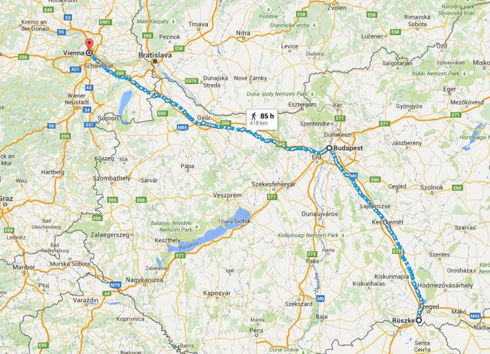 Here Is The Long Route Many Refugees Take To Travel From