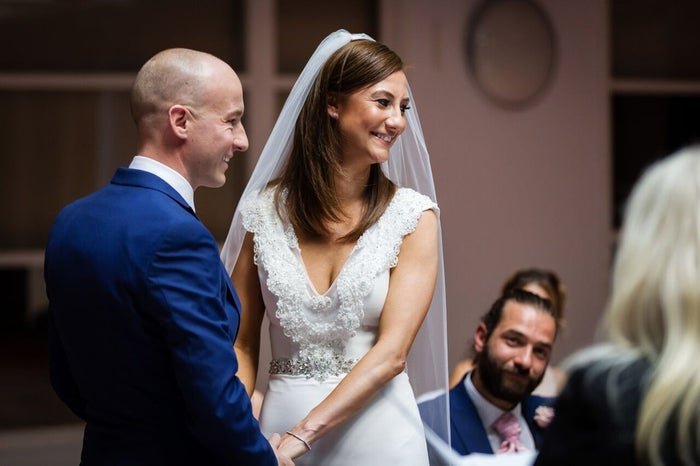 """As soon as Steven was diagnosed with cancer we knew we wanted to get married straightaway,"" Laura said. ""We all wanted to have the same name and we wanted to be proper family."""