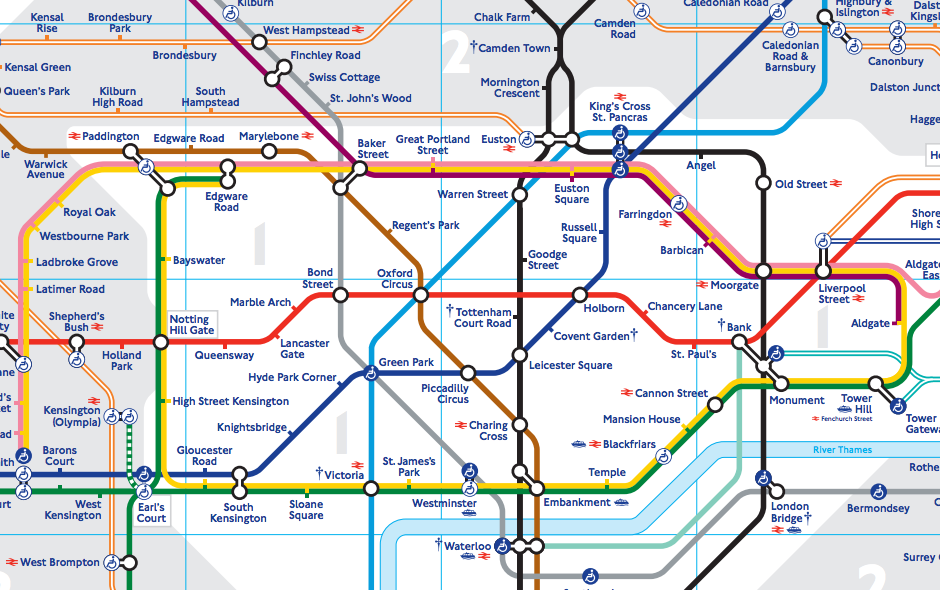 This Physically Accurate Tube Map Will Change The Way You Think – Uk Tube Map London