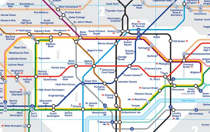 Tube Map Of London.This Physically Accurate Tube Map Will Change The Way You