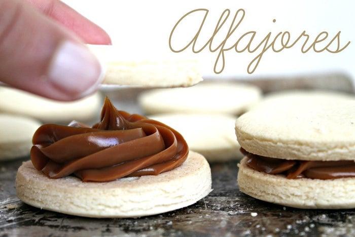 Alfajores are a classic Argentine dessert. Recipe here